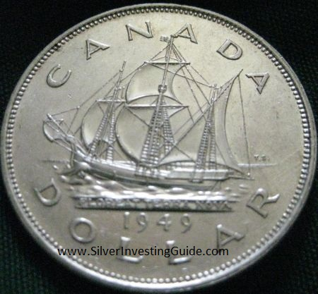King George Vi Canadian Commemorative Silver Dollars
