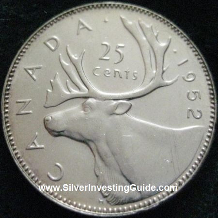 Investing In Silver Canadian Coins Pre 1968